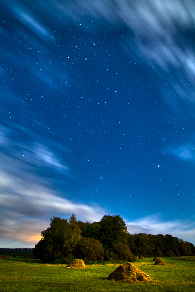 Landscape photography: Night sky in northern Poland