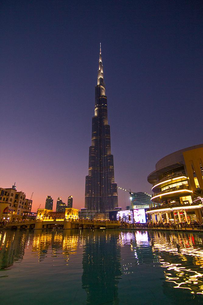 Architectural photography: Burj Khalifa, Dubai, United Arab Emirates