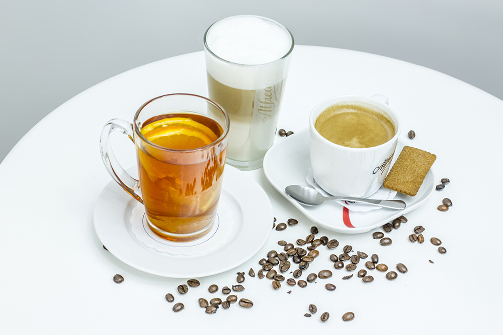 Beverages photography & styling: Tea and coffee